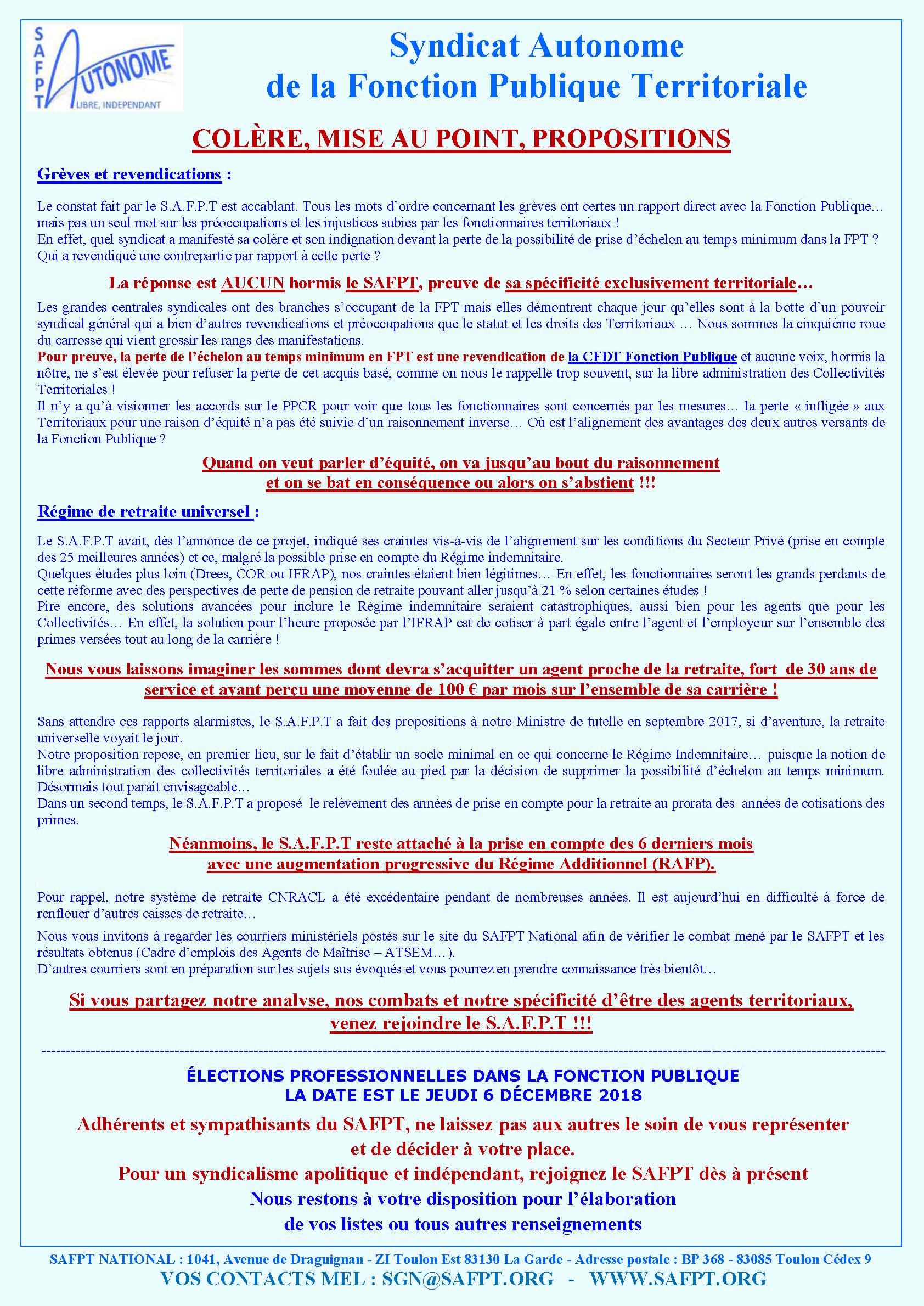 Publications Dernières Infos